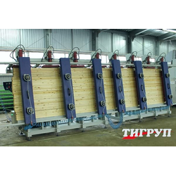 Пресс гидравлический для бруса Эльбрус-1Г Тигруп Сращивание по длине Столярные станки