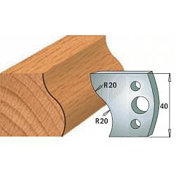 Комплекты ножей и ограничителей серии 690/691 #009 CMT Ножи и ограничители для фрез 40 мм Ножи